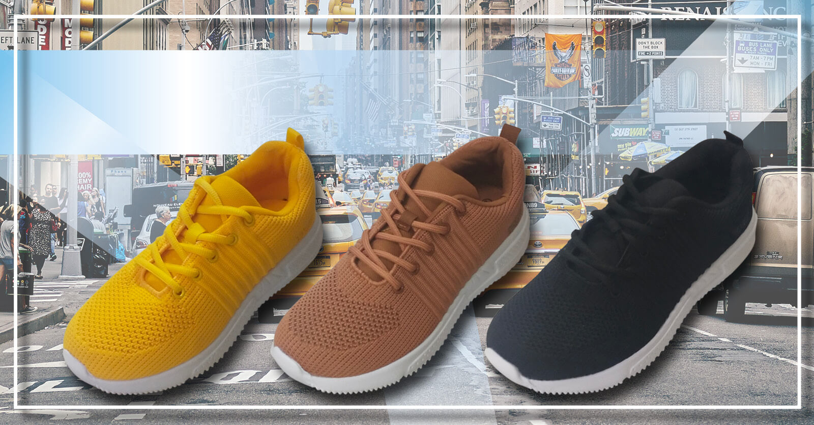 Bali sneakers sko gul brun svart city gate