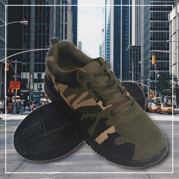 Bali sneakers skor camo black