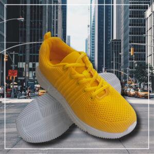Bali sneaker sko gul